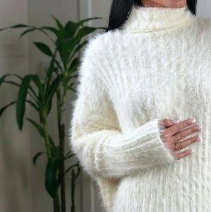Dresses & Skirts - ASPEN Fuzzy Oversized Dress Reposh